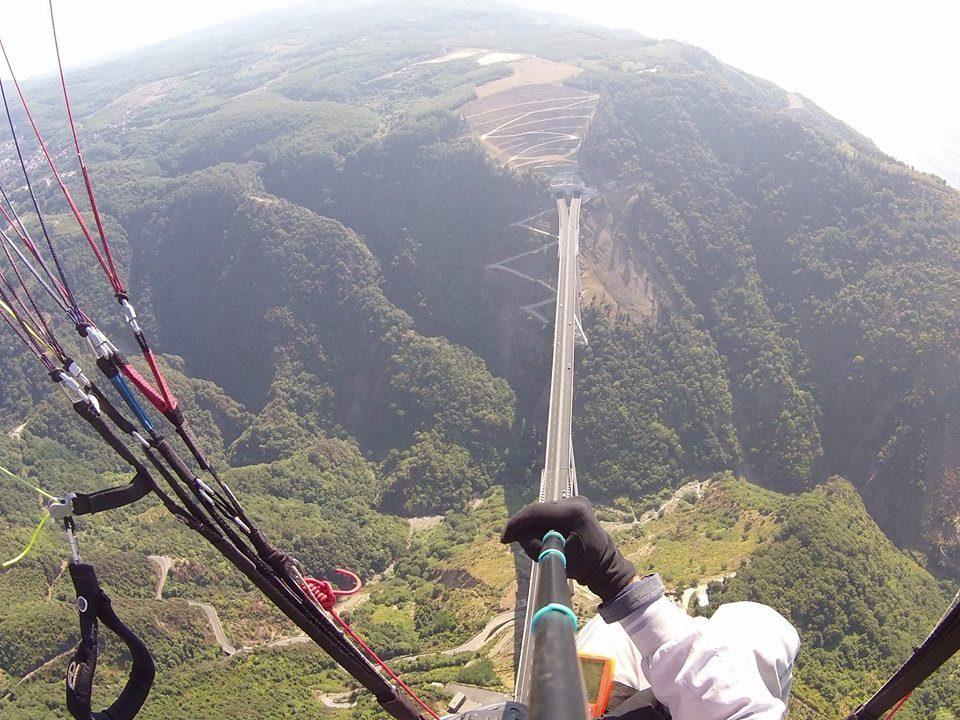 paragliding aspromonte