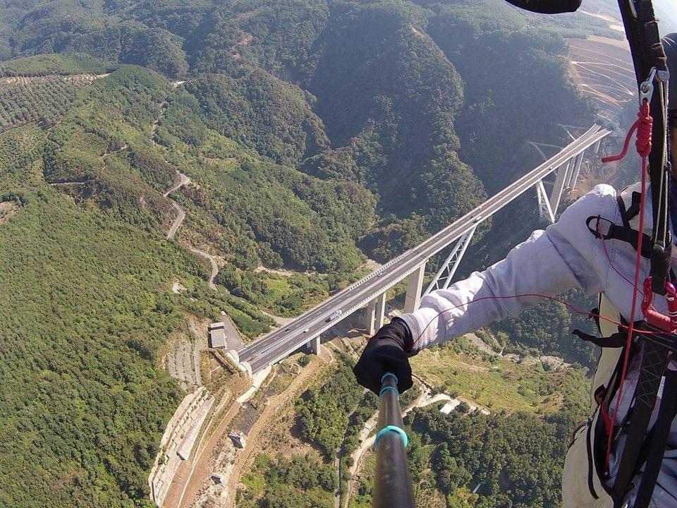 paragliding bagnara